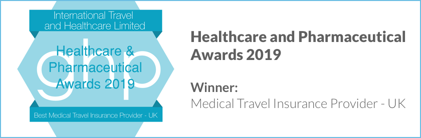 ITHC are winners of the 2019 Healthcare and Pharmaceutical Awards for Best Medical Travel Insurance Provider - UK